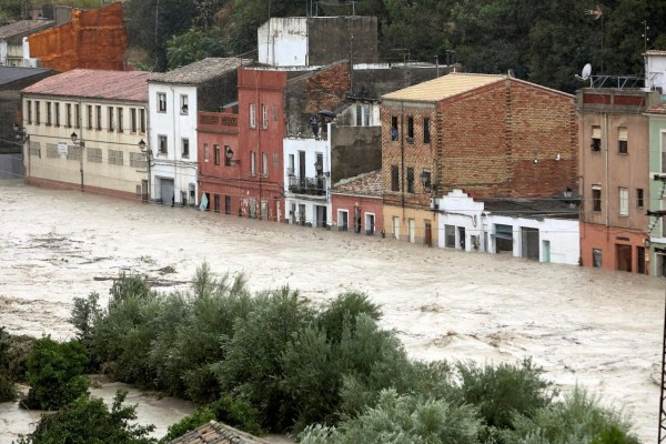 Severe floods in Eastern Spain