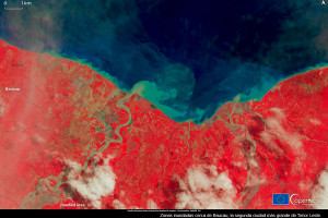 Inundaciones y deslaves en Indonesia y Timor: los desplazados como consecuencia de los desastres naturales.