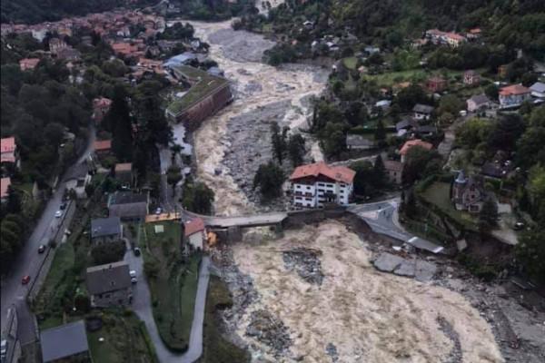 2020, record year in number of floods in Europe