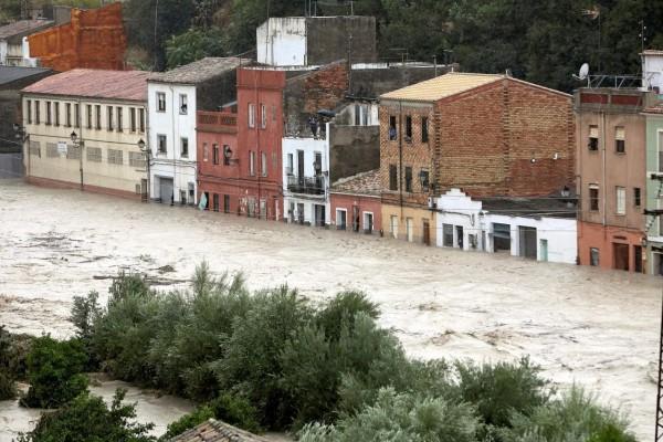 Graves inundaciones en el Levante español
