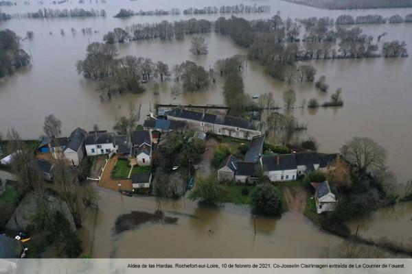 Reflexionando sobre la política de inundaciones francesa en la región de Pays de la Loire